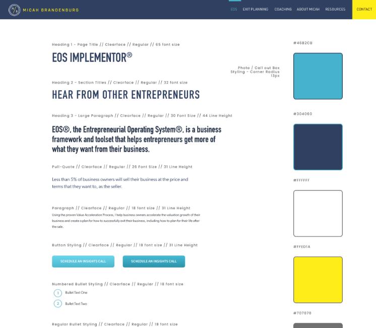 Branding Design & Online Marketing Strategy